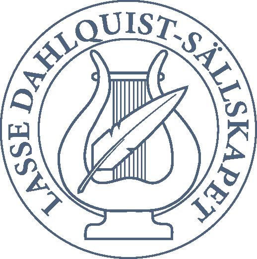 Lasse Dahlquist-sällskapets logotyp