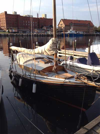 Kostern Aya var Lasse Dahlquists favoritbåt