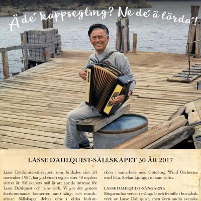 Lasse Dahlquistsällskapet fyller 30 år